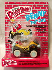 ROGER RABBIT BENNY THE CAB ANIMATE FIGURE! VINTAGE 1987! MOC! ONLY 2500 MADE!