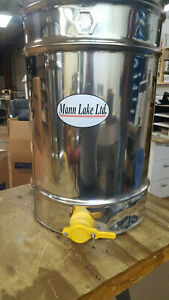 HH-160 Stainless 6/3 Frame Hand Crank Extractor BEEKEEPING