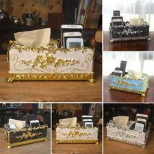 Modern European Retro Tissue Box Napkin Holder Paper Case Cover Home Decoration