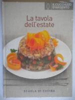 La tavola dell'estate ricette Scuola cucinakenwoodcucchiaio argento illustrato
