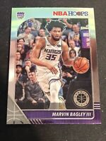 Marvin Bagley III 2019-20 Panini NBA Hoops 🏀 Premium Stock Base #166 Kings