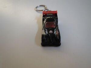 PANOZ GTR-1 RACE CAR DIECAST MODEL TOY CAR KEYCHAIN KEYRING BLACK