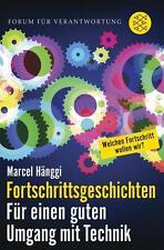 Fortschrittsgeschichten von Marcel Hänggi (2015, Taschenbuch), UNGELESEN