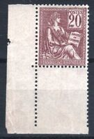 """FRANCE STAMP TIMBRE N° 113 """" TYPE MOUCHON 20c BRUN-LILAS """" NEUF xx LUXE T536"""