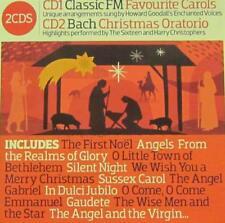Various Classical(2CD Album)Favourite Carols/Christmas Oratorio-Classic-VG