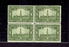 CANADA # 159 PARLIAMENT Block of 4 mint hinged