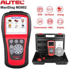 Autel MD802 OBD2 Diagnostic Scanner Tool ABS EPB SRS Engine Airbag Transmission