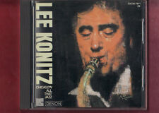 LEE KONITZ - CHICAGO'N ALL THAT JAZZ CD APERTO NON SIGILLATO