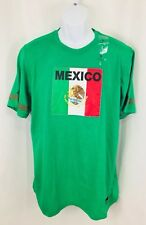 Mitre Mexico Flag Men's Large Shirt Soccer Football Mexican