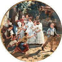 "Wandteller ""Am Fronleichnamsmorgen"", Lilien - Porzellan/ Ausria"