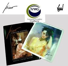 "Pino  ""Timeless Visions"" Black Book w LE ""Fredericka"" print S/N w/COA@ EBAY LOW"