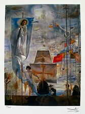 Salvador Dali DISCOVERY OF AMERICA Facsimile Signed & Numbered Art Giclee