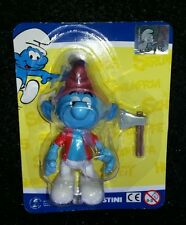# WOODMAN SMURF FIGURE by DE AGOSTINI 2013 RARE LIMITED EDITION FOR ITALY #