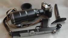 Zenit-ES FS-12 PhotoSniper Soviet Russian KMZ 35mm SLR Camera Set IN CASE EXC.