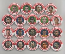 MANCHESTER UNITED  CHAMPIONS LEAGUE WINNERS  2008   BADGES X 19  38mm IN  SIZE