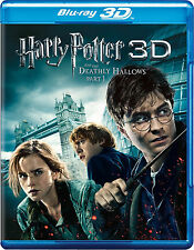Harry Potter and the Deathly Hallows: Part I (Blu-ray/DVD, 2012; 3D)