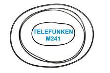 SET CINGHIE TELEFUNKEN M 241 REGISTRATORE A BOBINE BOBINA NUOVE FRESCHE M241
