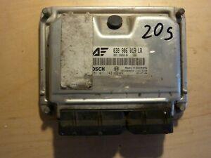 Ford Galaxy 2002 1.9tdi ECU 038906019LR Bosch 0281011143 20S