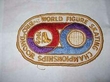 De Colección Parche de 1969 campeonatos del mundo de patinaje artístico