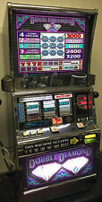 """IGT S2000 """"DOUBLE DIAMOND 5 LINE"""" SLOT MACHINE (COINLESS) with TICKET PRINTER"""