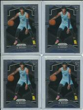 4X JA MORANT PRIZM PANINI ROOKIE CARD BASE LOT 2019-20 WELL CENTERED #249