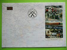 FDC 2007  transport, booklet