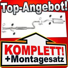 Auspuff ROVER 400 (RT) 414 416 Si Schrägheck Auspuffanlage 917