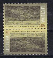 Litauen 1997 postfrisch Kehrdruck MiNr. 643  Botanischer Garten Palanga