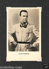 Rudolf Caracciola Nurburgring Ross Postal Fotografía Mercedes
