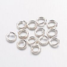 260pc Jump rings 4mm Silver jumprings High quality Findings Close but Unsoldered