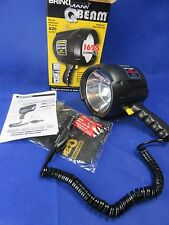NEW Brinkmann Q-Beam Spotlight Floodlight 12V / 1625 Lumens Free Extra Bulb
