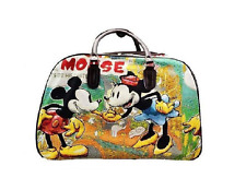 Mickey Mouse Holdall vintage Trolley Bag.Travel Medium Size hand luggage