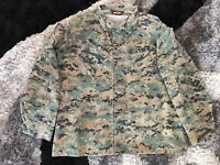 TRU-SPEC MILITARY BDU Coat Jacket Shirt Digital Camouflage Men's Size L