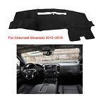 Fits For Chevrolet Silverado 2015-2016 DashMat Dash Cover Mat Dashboard Fly5D