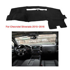 US Fits For Chevrolet Silverado 2015-2016 DashMat Dash Cover Mat Dashboard Fly5D