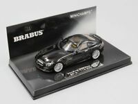 MINICHAMPS 1:43 BRABUS 600 IAA 2015 AUF BASIS MERCEDES-BENZ AMG GT S 2015  BLACK