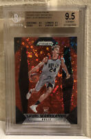 2017 Panini Prizm Fast Break Red #247 Lauri Markkanen RC /125 BGS 9.5 GEM MINT