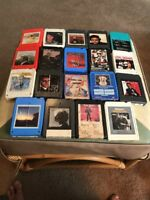 19 8 Track Tapes Nilsson Schmilsson Jones Fats Diamond Barbra Carol King Funk