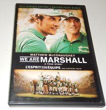 We Are Marshall  Matthew McConaughey Ian McShane Kate Mara  (DVD, 2007) FS