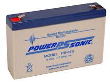 Huitong HT670, 6 volt Rechargeable Batteries