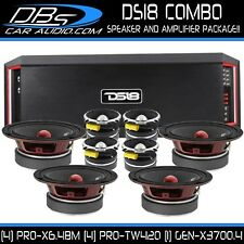 "4 DS18 PRO-X6.4BM 6.5"" Car Midrange Speaker 