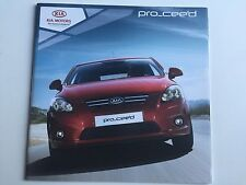 RARE CATALOGUE brochure Katalog  KIA PRO CEED Année 2013 16 PAGES