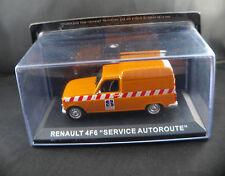 """Kiosque ◊ Renault 4F6 """"Service Autoroute"""" ◊ 1/43 en boîte / boxed"""