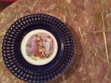 Vintage Victoria Austria portrait porcelain plate signed Kaufmann