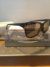 ##Oakley Hold On Clear Frame Chrome Iridium Lenses MINT W Case Fast Free S/H#