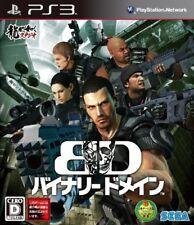 Used Sega PS3 Binary Domain