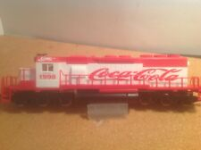 Coca cola.Sd40 locomotive Custom Decales  by IHC methano ho new