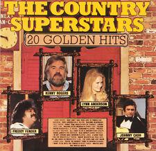 THE COUNTRY SUPERSTARS 20 Golden Hits FR Press Spectrum SPEC 85012 CD