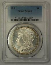 1885 US Morgan Silver Dollar $1 Coin PCGS MS-63 SPL Semi-Proof Like (17)