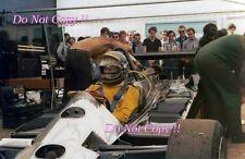 Ronnie Peterson JPS Lotus Portrait Italian Grand Prix Saturday 1978 Photograph 2